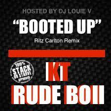 Booted Up BFL Rude Boii front cover
