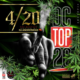 4/20 Hood Hits DJ Anonymous front cover