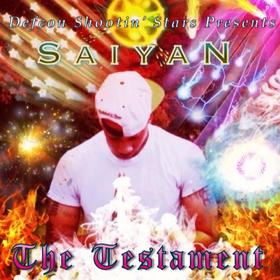 Saiyan The Testament DJ BkStorm front cover