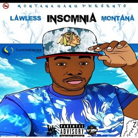 Insomnia - Lawless Montana Colossal Music Group front cover