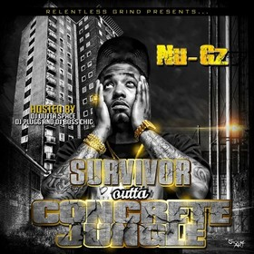 Survivor Outta Concrete Jungle Nu-Gz front cover