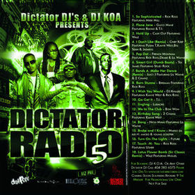 Dictator Radio 5 Various Artists front cover