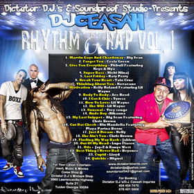 Rhythm & Rap Volume 1 Various Artists front cover