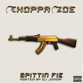 Choppa Zoe - Spittin Fie DJ Junior front cover