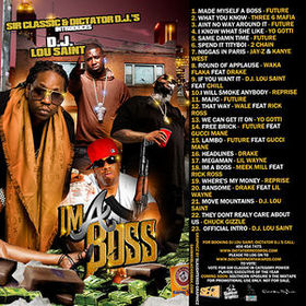 I'm A Boss Various Artists front cover