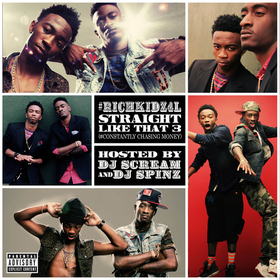 Straight Like That 3 Rich Kidz front cover