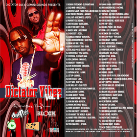 Dictator Vibez Various Artists front cover