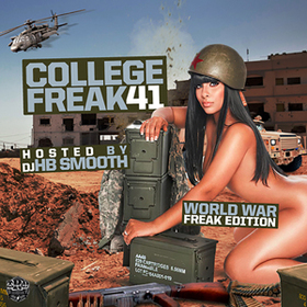 College Freak 41 DJ HB Smooth front cover