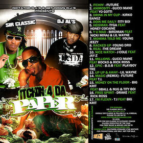 Itchin' 4 Da Paper Various Artists front cover