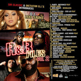 R&B Files Volume 2 Various Artists front cover