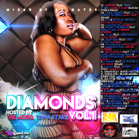Diamonds Vol 1 Hosted By The Model Trina Starz Various Artists front cover