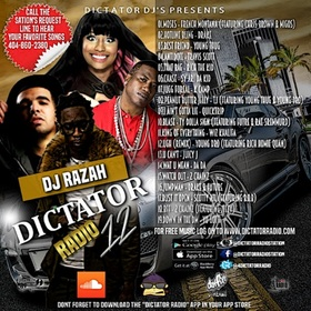 Dictator Radio 12 Various Artists front cover