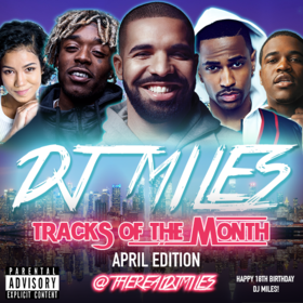 Tracks of the Month (April Edition) (2016) DJ Miles front cover