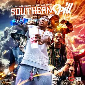 Southern Spill DJ S.R. front cover