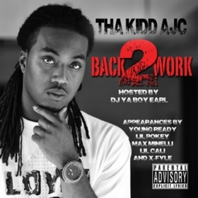 BACK 2 WORK Tha Kidd AJC front cover