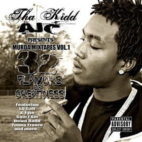 32 FLAVORS Tha Kidd AJC front cover