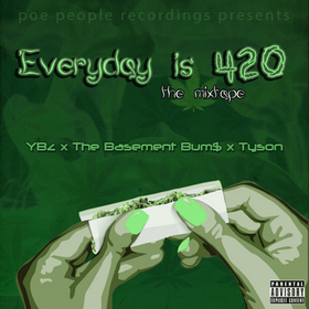 Everday Is 4/20 Various Artists front cover