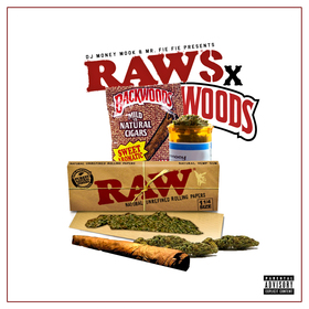RAWS X WOODS DJ Money Mook front cover