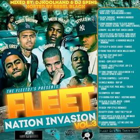 Fleet Nation Invasion Vol.3 Various Artists front cover