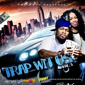 Trap Wit Us Vol. 5 Skroog Mkduk front cover