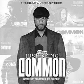 Just Being Common Common front cover