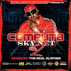 "Infamous Mobb Deep Presents ""Computa Sky Net Vol 2"" (The Real DJ Spins) Computa front cover"