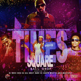 Times Square Ball Drop DJ All Most Rare front cover