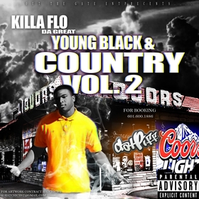 Young Black & Country Killa Flo Da Great front cover