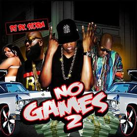 No Games Pt.2 DJ BkStorm front cover