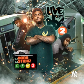 Live From N.Y. 2 DJ Hood front cover