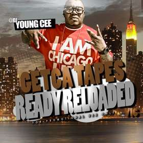 Dj young Cee- Getcha Tapes Ready Reloaded VOL 16 Dj Young Cee front cover