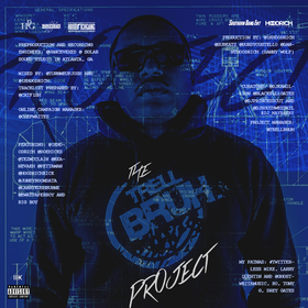 THE TRELL BRUH PROJECT DJ Southwest Atlanta front cover