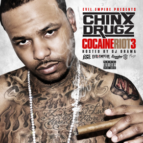 Cocaine Riot 3 Chinx front cover