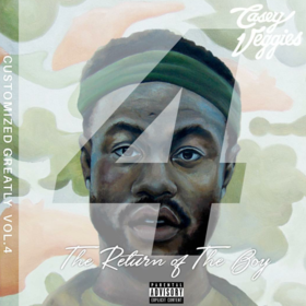 Customized Greatly 4 (The Return Of The Boy) Casey Veggies front cover