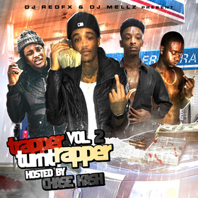 Trapper Turnt Rapper Vol. 2 (Hosted By Chase Kash) Dj RedFx front cover