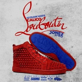 Louboutin Blue Bottom Calico Jonez front cover