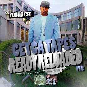 Dj young Cee- Getcha Tapes Ready Reloaded VOL 18 Dj Young Cee front cover