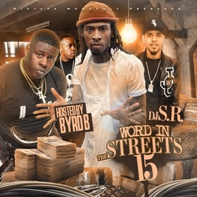 Word in The Streets 15 DJ S.R. front cover