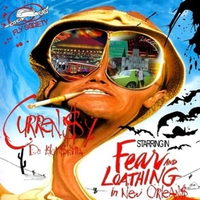 Fear and Loathing in New Orleans Curren$y front cover