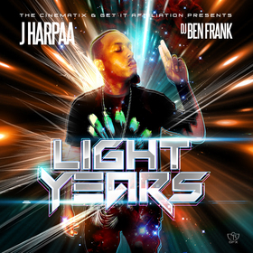 Light Years J Harpaa front cover