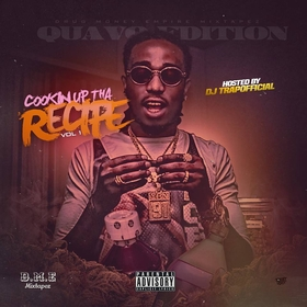 Cookin Up Tha Recipe Vol.1 (Quavo Edition) DJ Kidd Styles front cover