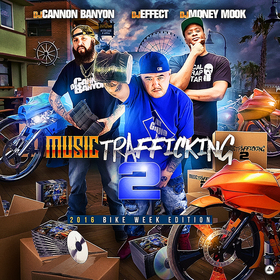 Music Trafficking 2016 Bike Week Edition Various Artists front cover