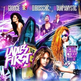 Ladies First Vol.2 DJ Boss Chic front cover