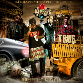 True Grinder Vol. 4 DJ Krave1017 front cover