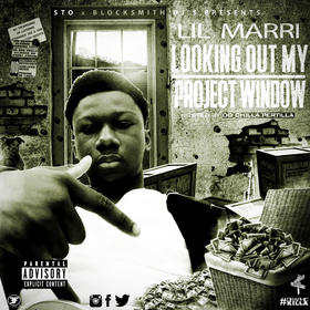 Lil Marri - Looking Out My Project Window Chilla Pertilla front cover