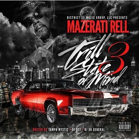 Trill State Of Mind 3 Yung Rell front cover