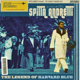 The Legend Of Harvard Blue Curren$y front cover