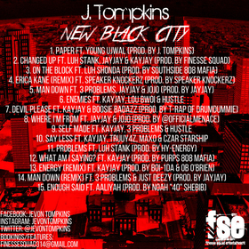 J Tompkins - New Black City Heavy G front cover