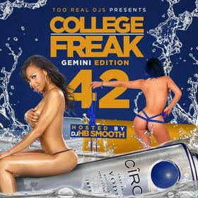 College Freak 42 (Gemini Edition) DJ HB Smooth front cover