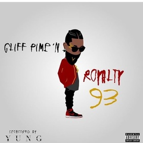 ROYALTY93 Cliff Pimp'N front cover